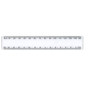 Picture of Treeline 15cm Shatter Resistant Ruler Clear