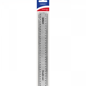 Picture of Marlin Flexible Ruler 30cm Clear