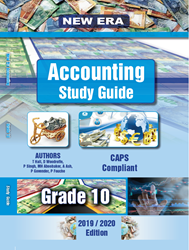 Picture of New Era Accounting Grade 10 Study Guide