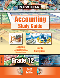 Picture of New Era Accounting Grade 12 Study Guide