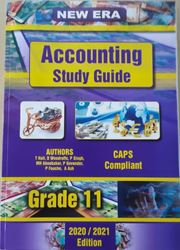 Picture of New Era Accounting Grade 11 Study Guide