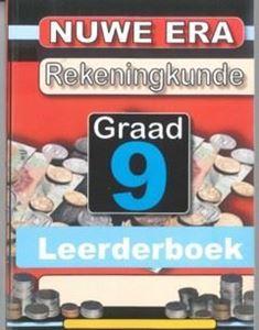 Picture of Nuwe Era Rekeningkunde Graad 9 Leerder Boek
