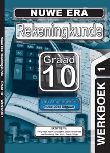 Picture of Nuwe Era Rekeningkunde Graad 10 Oefeningboek