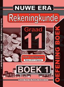 Picture of Nuwe Era Rekeningkunde Graad 11 Oefeningboek