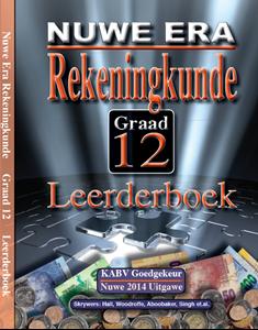 Picture of Nuwe Era Rekeningkunde Graad 12 Leerder Boek