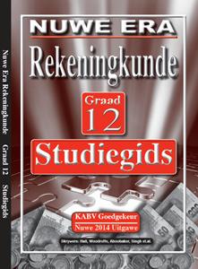 Picture of Nuwe Era Rekeningkunde Graad 12 Studiegids