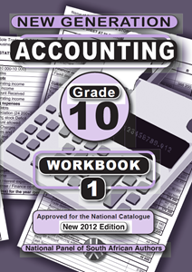 Picture of New Generation Accounting Grade 10 Exercise Book