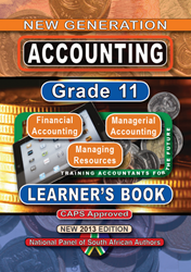 Picture of New Generation Accounting Grade 11 Learner Book