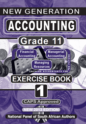 Picture of New Generation Accounting Grade 11 Exercise Book