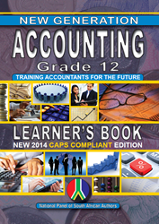 Picture of New Generation Accounting Grade 12 Learner Book