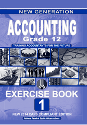 Picture of New Generation Accounting Grade 12 Exercise Book