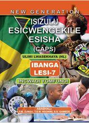 Picture of New Generation Isizulu Esicwengekile Grade 7 Learner Book