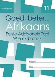 Picture of Goed Beter Afrikaans Graad 11 Werkboek (met Letterkunde)