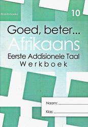 Picture of Goed Beter Afrikaans Graad 10 Wekboek (met Letterkunde)