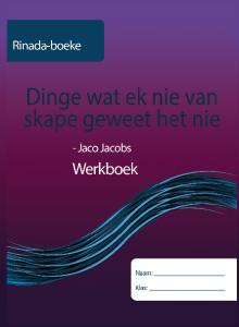 Picture of Dinge wat ek nie van skape geweet het nie Werkboek