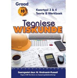 Picture of Tegniese Wiskunde Graad 10 Kwartaal 3 & 4