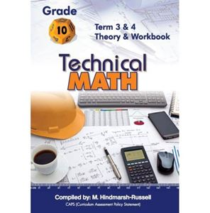 Picture of Technical Maths Grade 10 Term 3 & 4