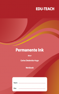 Picture of Permanente Ink Werkboek