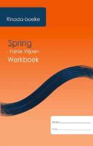 Picture of Spring Werkboek