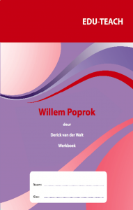 Picture of Willem Poprok Werkboek