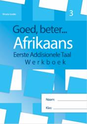 Picture of Goed Beter Afrikaans Graad 3 Werkboek