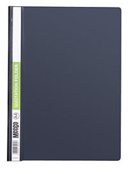 Picture of Meeco A4 Quotation Folder Black
