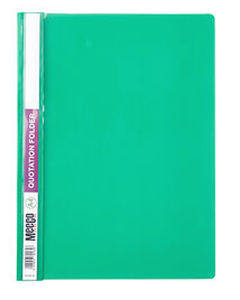 Picture of Meeco A4 Quotation Folder Green