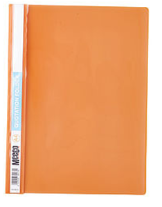 Picture of Meeco A4 Quotation Folder Orange