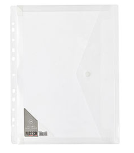 Picture of Meeco A4 Fileable Carry Folder Clear