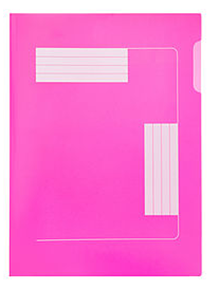 Picture of Meeco A4 Premier Folder Pink