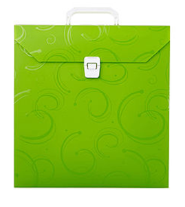Picture of Meeco Creative Scrapbook Carry Case Green