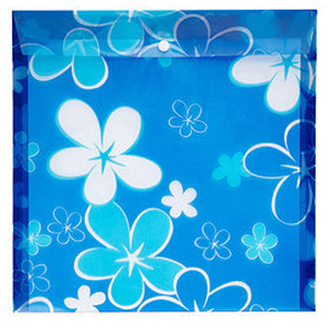 Picture of Meeco Scrapbook Carry Folder Printed Blue