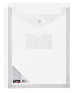 Picture of Meeco A4 Vertical Fileable Carry Folder Clear
