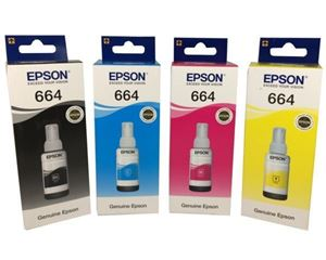 Picture of Epson Ecotank 664 70ml Cyan Ink