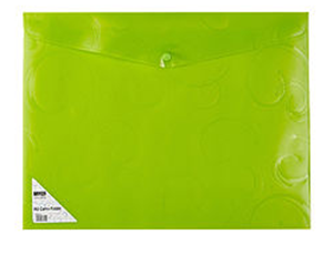 Picture of Meeco A4 Creative Carry Folder Green