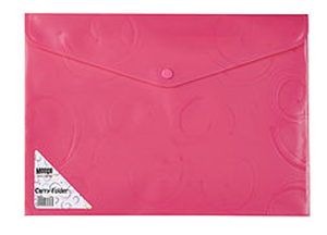 Picture of Meeco A4 Creative Carry Folder Pink