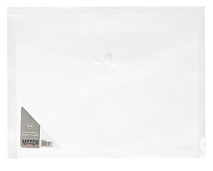 Picture of Meeco A4 Expandable Carry Folder Clear