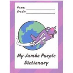 Picture of My Jumbo Purple Dictionary