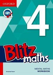 Picture of Blitz Mental Maths Grade 4 Workbook