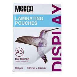 Picture of Meeco A3 Laminating Pouch 150 Micron