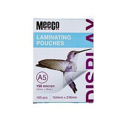 Picture of Meeco A5 Laminating Pouch 150 Micron