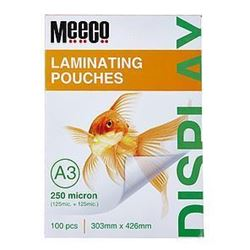 Picture of Meeco A3 Laminating Pouch 250 Micron