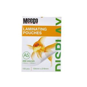 Picture of Meeco A5 Laminating Pouch 250 Micron