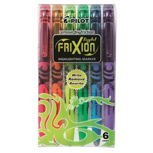 Picture of Pilot SW-FL Frixion Highlighter Chisel Tip Wallet 6