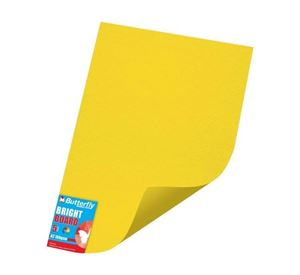 Picture of A2 Project Board Bright Yellow Singles Wrapped