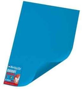 Picture of Butterfly A2 Project Board Bright Blue Singles Wrapped