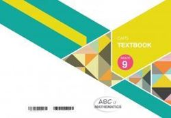Picture of ABC of Mathematics Grade 9 Textbook
