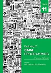 Picture of Exploring IT Java Programming Grade 11 3rd Edition