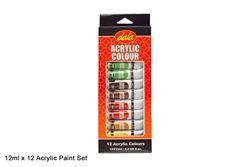 Picture of Dala Acrylic Paint Tube Set 12 x 12ml
